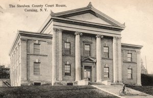 The Steuben County Court House, Corning, N. Y.