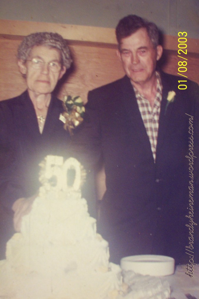 Florence & Jesse Bartoo 50 yrs