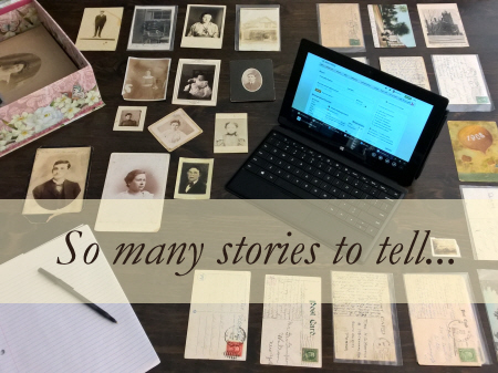So many stories to tell....
